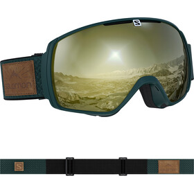 Salomon XT One Sigma Goggles green gables/black gold